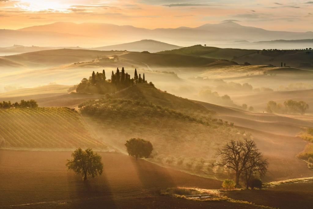 Toskania, Włochy - najpiękniejsze turystyczne fotografie