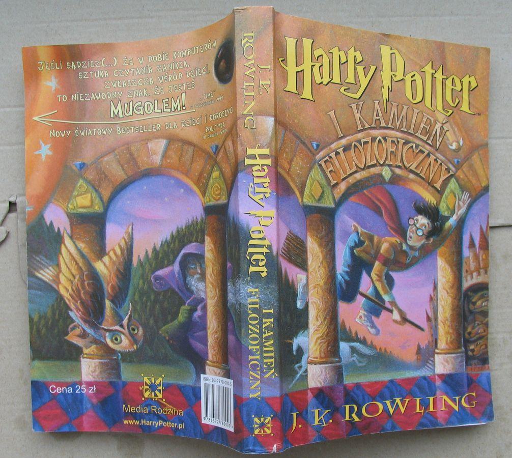 Harry poter książki