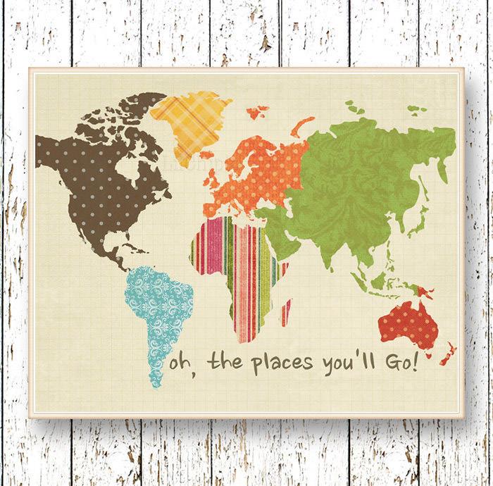 kreatywne przeróbki mapy świata