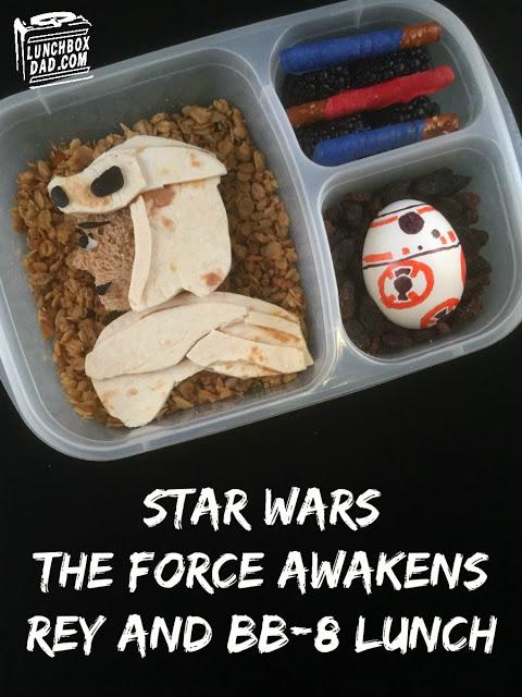 lunchboxy stylizowane na Gwiezdne Wojny