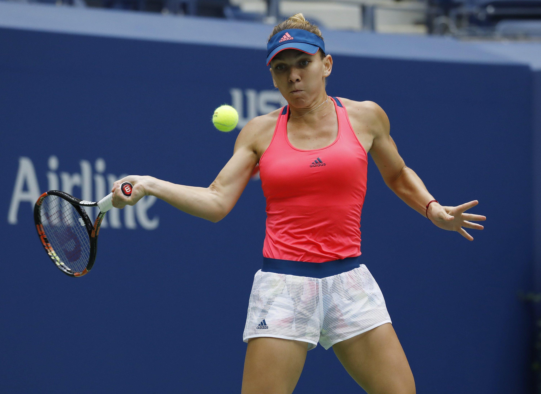 US Open - awans Halep, porażka Ivanovic