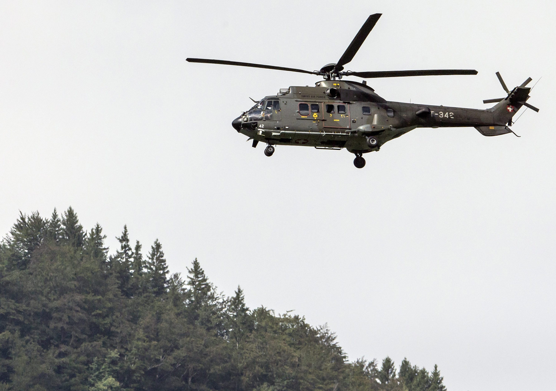 Szwajcaria: odnaleziono zwłoki pilota myśliwca, który rozbił się w Alpach