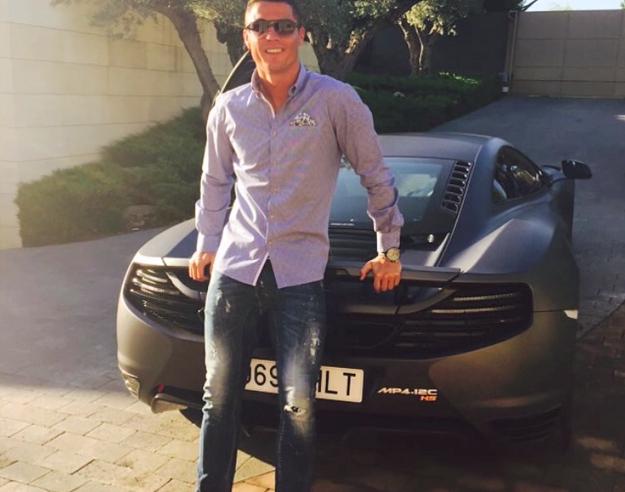 samochody Cristiano Ronaldo