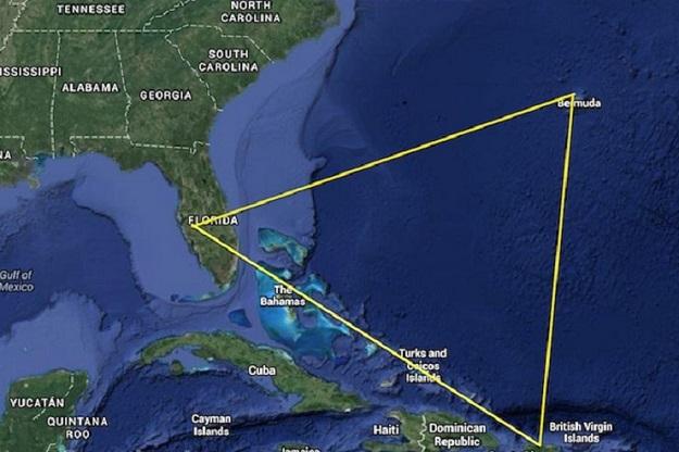 fakty na temat Trójkąta Bermudzkiego