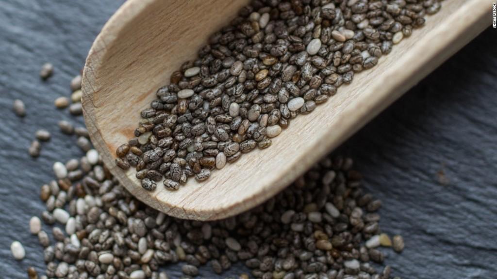 nasiona chia wspomagają odchudzanie