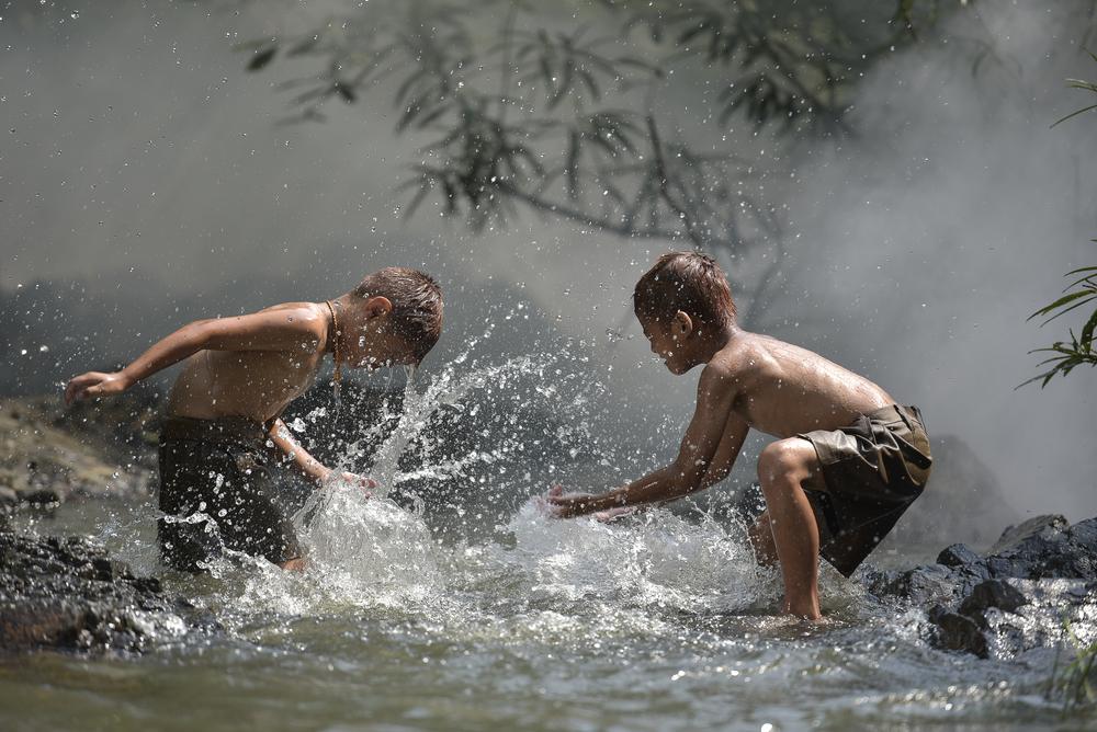 Bliski dostęp do wody to radość dla dzieci i więcej czasu na naukę