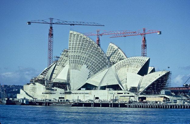 światowe budowle, przed ich ukończeniem