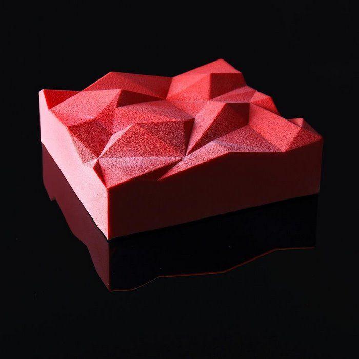 najbardziej geometryczne desery