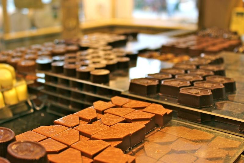 najdziwniejsze czekoladki