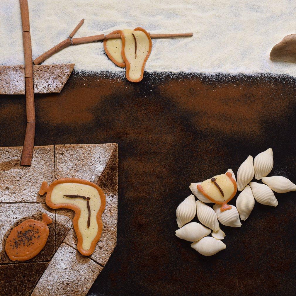 słynne dzieła sztuki stworzone z jedzenia