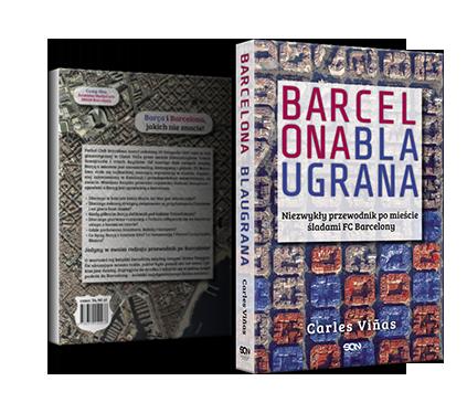 książki dla fana FC Barcelony Blaugrana