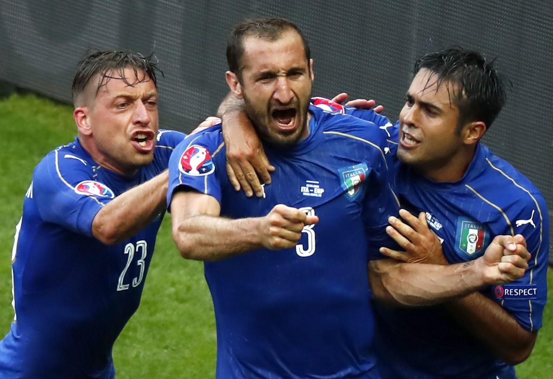 Z którym zespołem przegrała reprezentacja Włoch w fazie grupowej Mistrzostw Europy 2016?