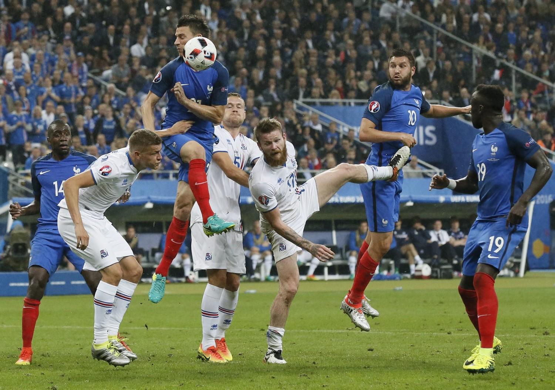 Jaki wynik padł w ćwierćfinałowym spotkaniu Francja - Islandia?
