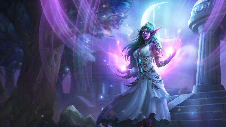W jaki sposób Tyrande obudziła druidów w lesie Ashenvale?