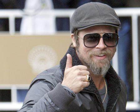 Brad Pitt czy jego sobowtór?