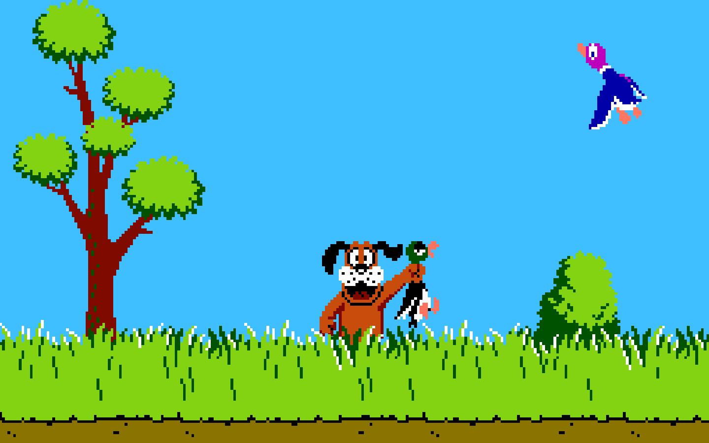 Co było zadaniem gracza w grze przedstawionej na zdjęciu?