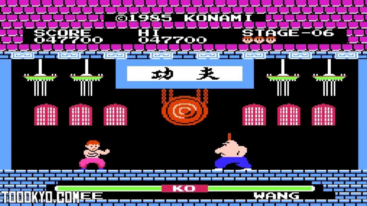 Na zdjęciu widzimy grę Yie Ar Kung Fu. Naszym przeciwnikiem jest: