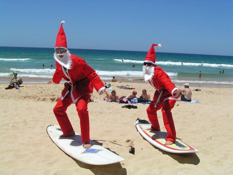 Święta Bożego Narodzenia w ciepłym kraju