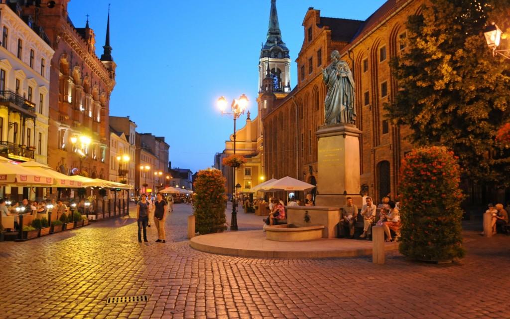 miasta polskie sylwester