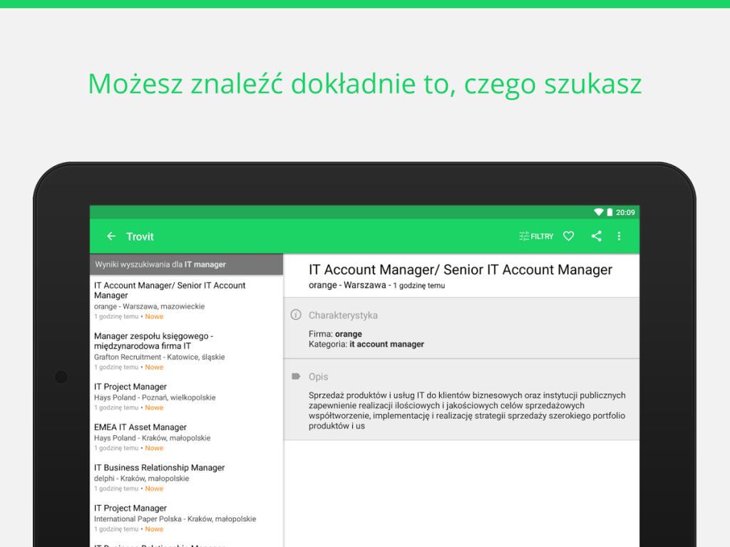 aplikacje do wyszukiwania pracy