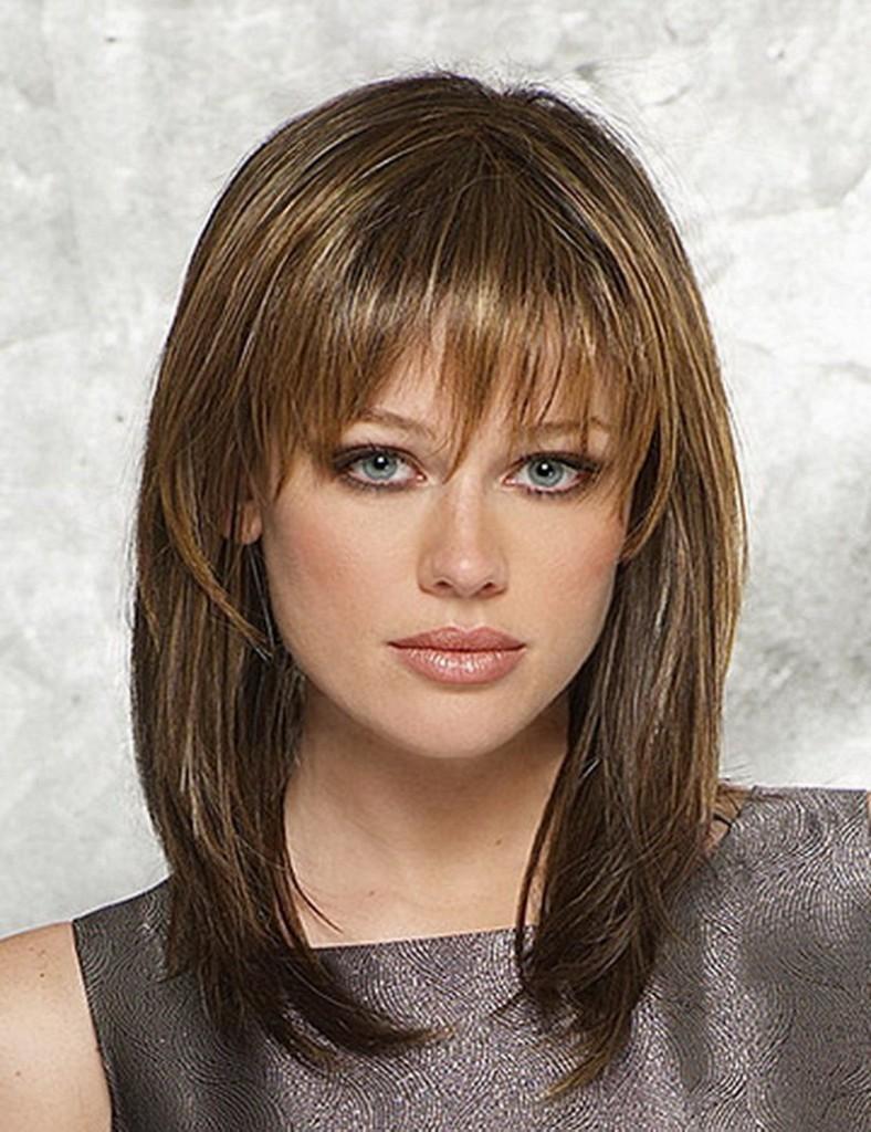fryzury dla półdługich włosów