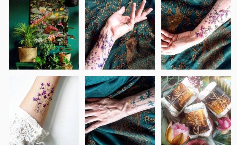 Zmywalne Tatuaże Nie Dość że Są Piękne To Przywołują