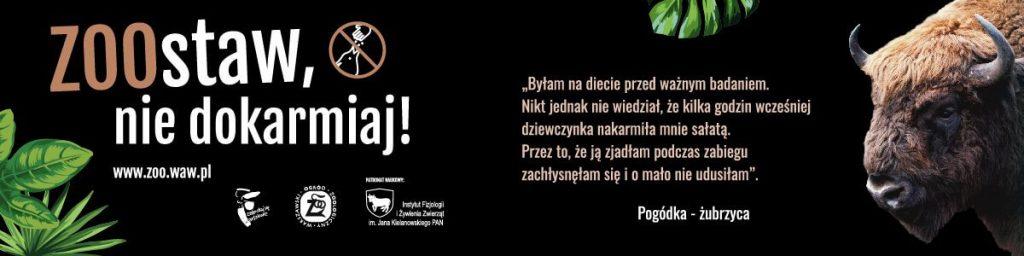 kampania ZOO w Warszawie