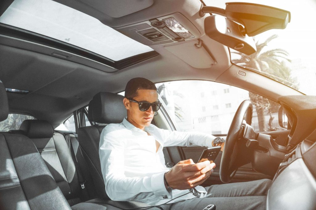 kierowca uber