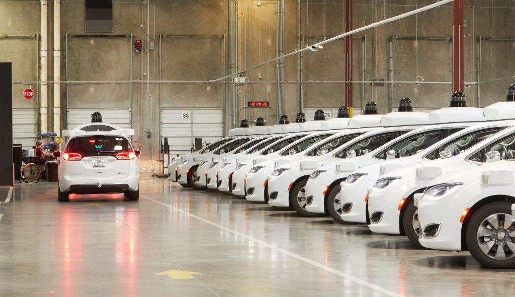 fabryka autonomiczny samochód Waymo od Google