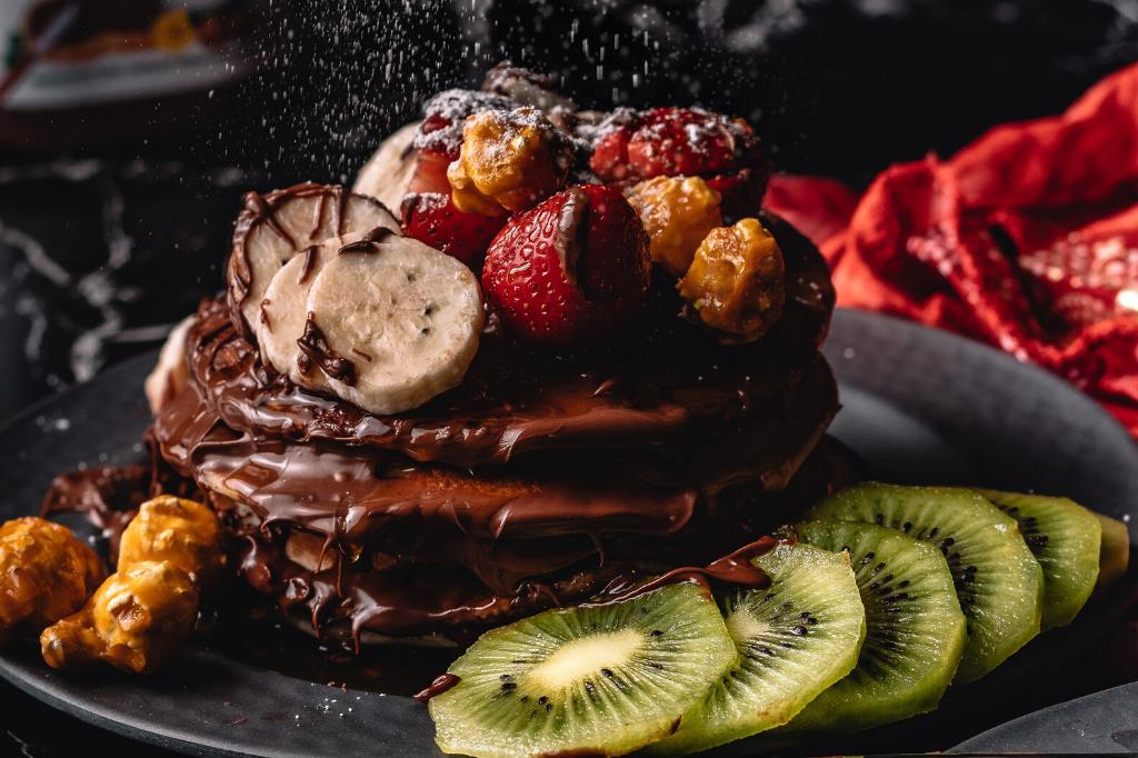 czekoladowe pankejki