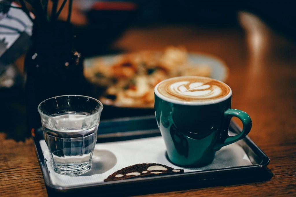 Kawa z wodą