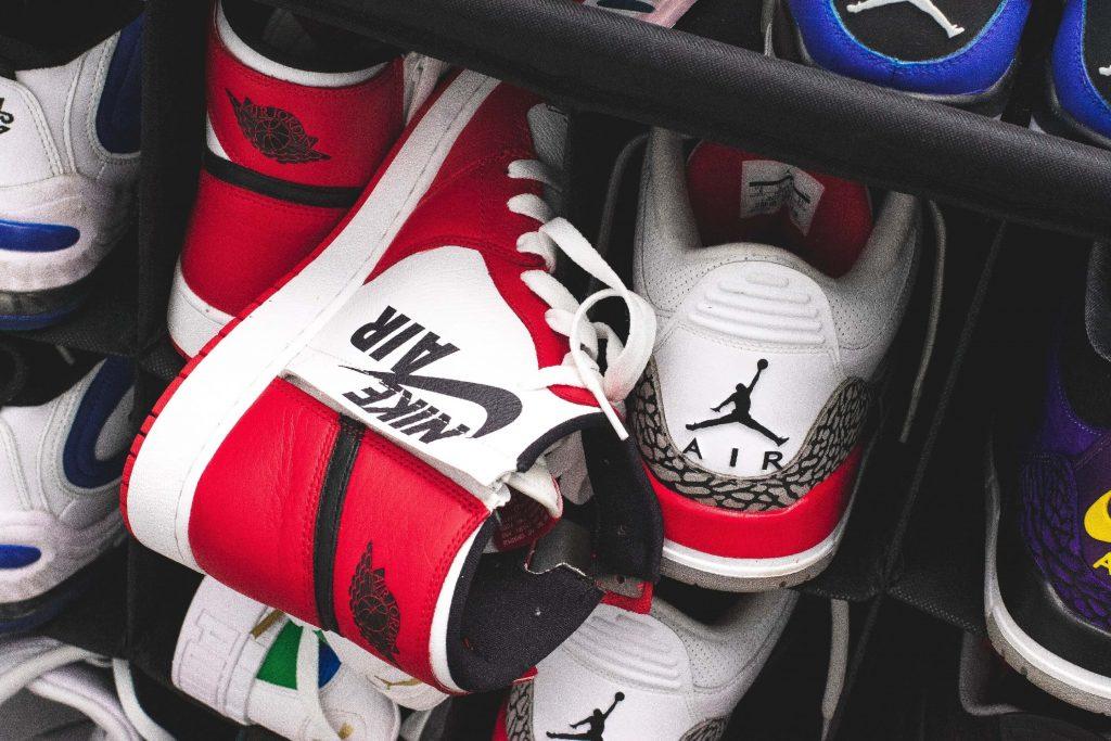 nike markowe buty